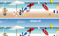 Beach find 10 Differences